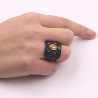 Infinity Ring Black Color 5