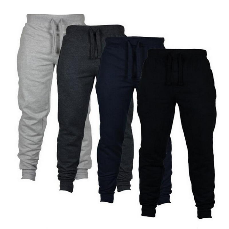 Autumn New Men's Casual Sweatpants Solid High Street Trousers Men Joggers Oversize Brand High Quality Men's Pants 2019