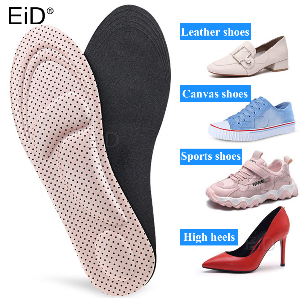 EiD Flat Feet Arch Support Insoles Orthopedic Height 3cm High Quality 3D Premium Comfortable Orthotic Insoles Foot Pad Unisex
