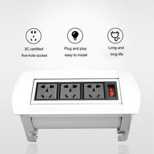 Tabletop Socket HDMI Universal Kekuatan Tersembunyi High-Definition Multimedia Socket Pop-Up Socket B15 AU US plug(China)