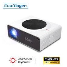 Yeni Touyinger Q9 LED 1080P full HD Bluetooth projektör ev sineması için düşük giriş lga 1920*1080P ev sinema video projektörler