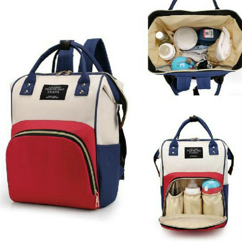 Multifunctional Mummy Maternity Nappy Bag Mommy Backpack Zipper Large Capacity Travel Maternity Bag Baby Diaper Bags Nursing Bag