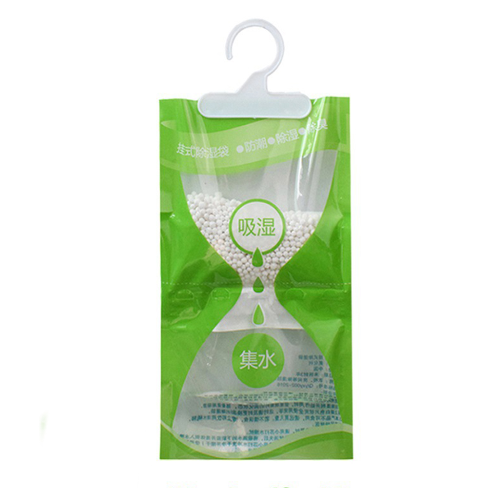 100g Wardrobe Moisture Absorbent Home Anti Mold Bathroom Effective Desiccant Closet Hanging Dehumidification Bag