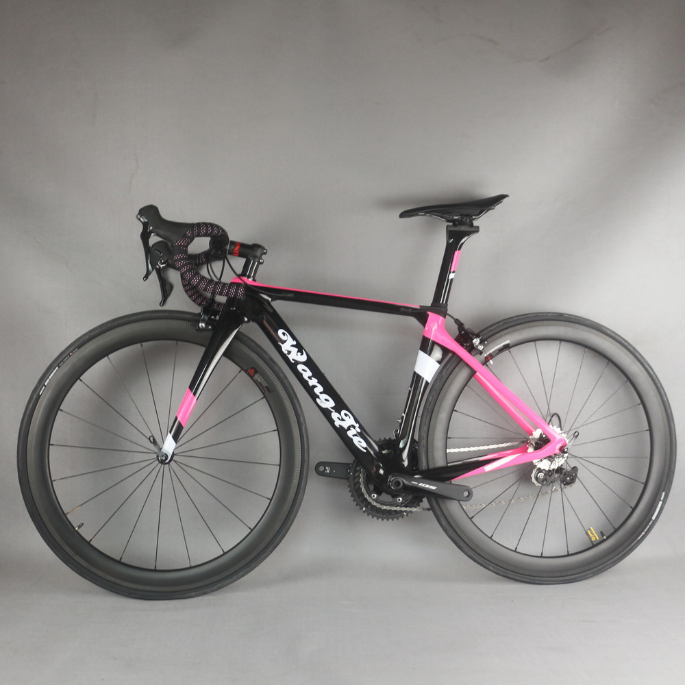 Aero road complete <font><b>bike</b></font> TT-X1 custom paint carbon wheel with SHIMANO0 R7000 groupset image