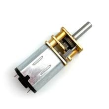 цена на N20 DC 6V Gear motor 30-3000RPM Micro Speed Gear Motor Mini Metal Electric Reduction Gear Motor for Car Robot Model DC Motors