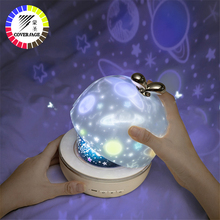 Coversage Rotierenden Nachtlicht Projektor Spin Starry Sky Star Master Ozean Welt Kinder Kinder Baby Schlaf Romantische Projektion