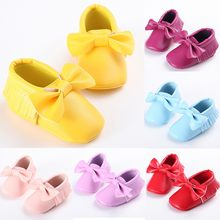 Toddler First Walk Winter Bow Knot Fringe Shoes Toddler Kid Baby Girls Cute Toddler First Walk Winter Bow Knot Fringe Shoes(China)