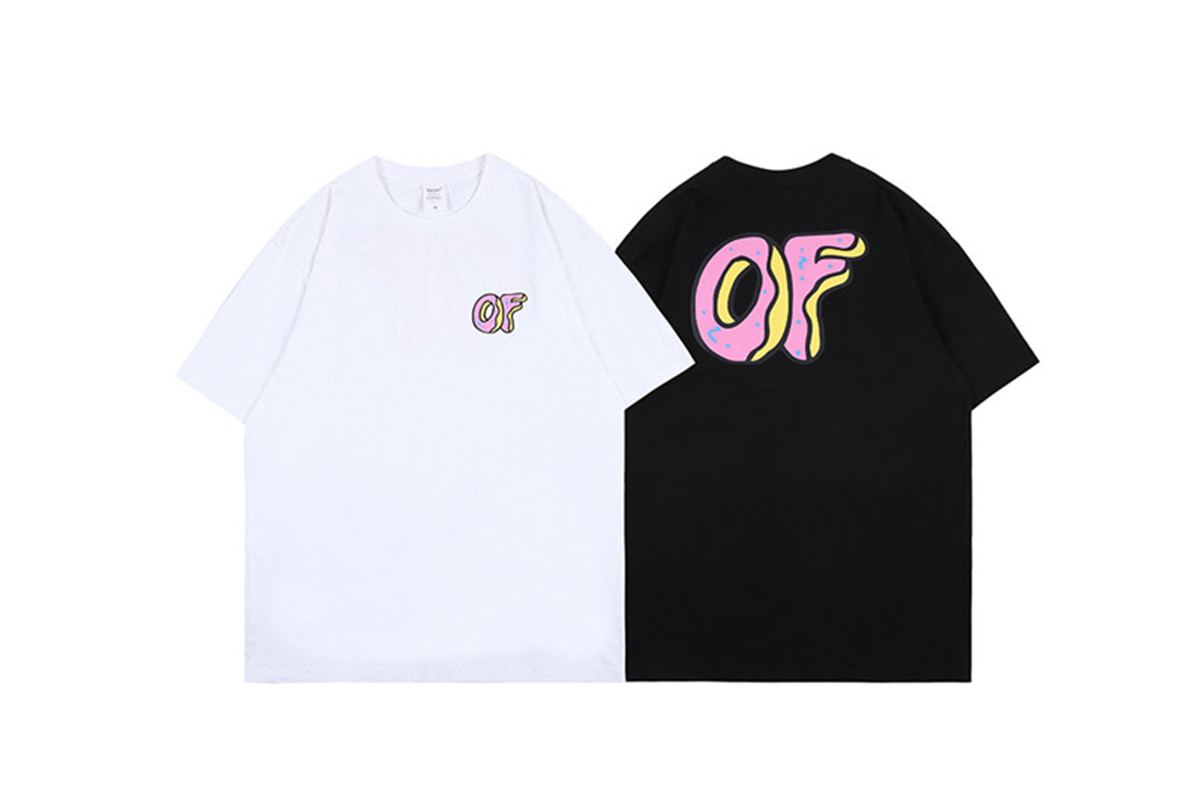 2020ss ODD FUTURE TIE DYE Donuts Printing T-shirts Men Women Top Quality T Shirts Tee Tops