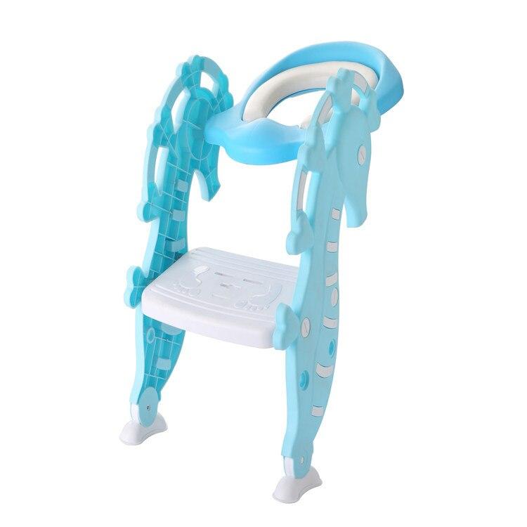 Hippocampus Children Ladder Pedestal Pan Auxiliary Pedestal Pan