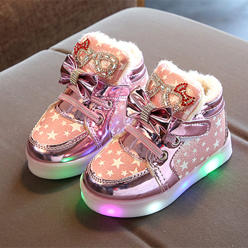 Casual Colorful Light Star Luminous Boots 2