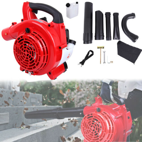 25cc 2 Stroke Handheld Cordless Leaf Blower Dust Sweeper Petrol Vacuum Cleaner For Garden Yard