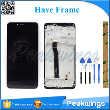 Tested LCD Screen For Xiaomi Redmi 6 6A  LCD Display Screen With Touch Assembly все цены