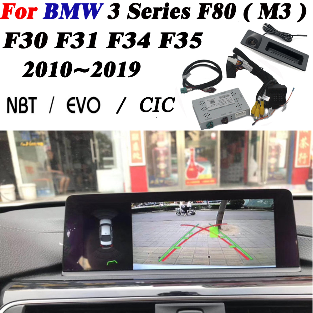 Front Rear Camera For BMW 3 Series F80 ( M3 ) F30 F31 F34 F35 2010~2019 Interface Original Display Improve Parking Decoder