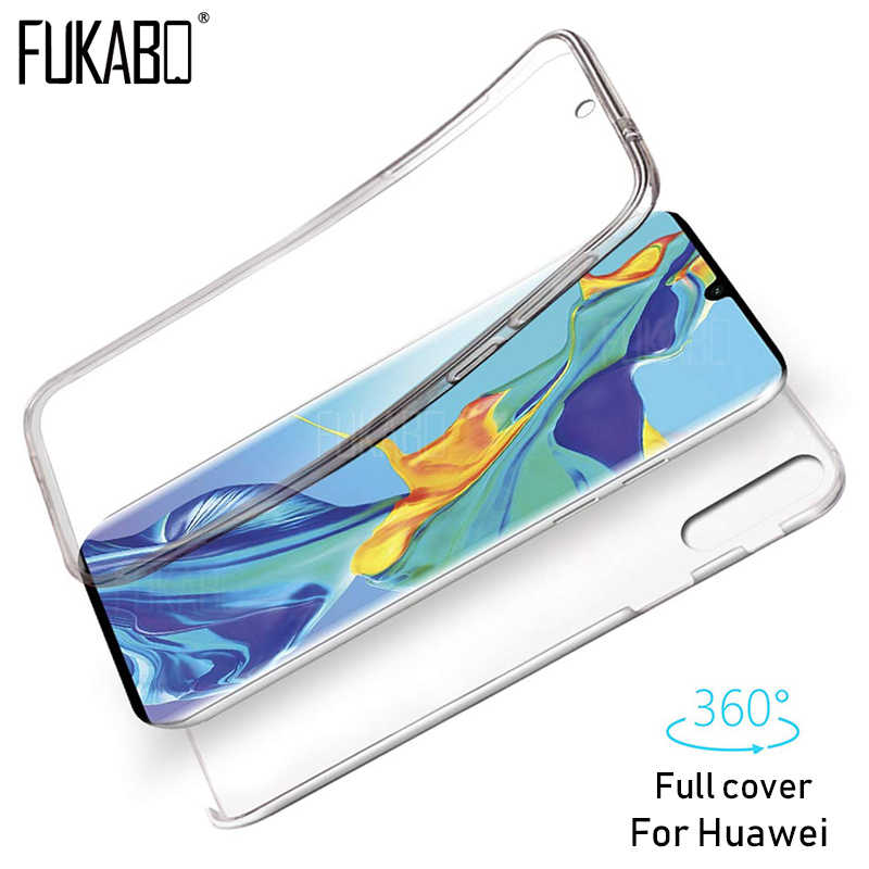 360 Luxury Protective phone Case For Huawei P30 P20 Lite Mate 20 10 30 Pro phone P Smart 2019 2018 Clear Silicone TPU Gel Cover