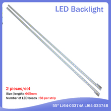 FOR SONY KDL-55HX750 LJ64-03374B LED Article lamp LTY550HQ04 screen 1piece=58LED 605MM стоимость