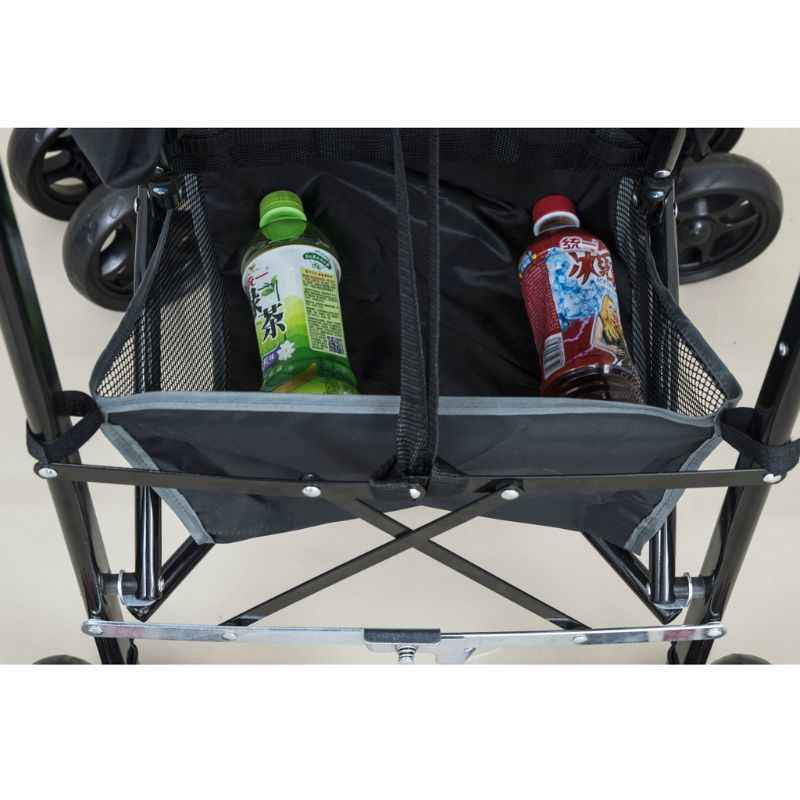 Детская корзина для коляски коляска для новорожденных висячая Корзина Коляска Нижняя Органайзер сумка E65D