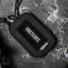 OneTigris EDC Pouch Draagbare Sleutel Portemonnee ROC Kaarthouder Portemonnee Reizen Kit Munt Mini Purse Sleutelhanger Pouch & Card slots