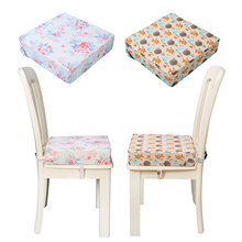 Cushion Dining-Chair Chair-Booster Seat Safety-Seat-Pads Heightening Washable Kids