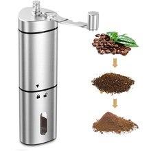 Кофемолка мини из нержавеющей стали ручной работы кофе в зернах