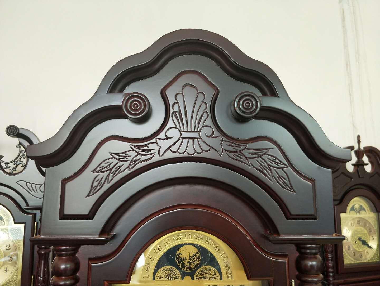 Classic Fashion wooden pendulum standing Mechanical grandfather Floor clock