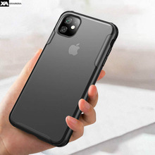 Ultra Slim Transparent Case For iPhone 11 Pro X XS Max XR Shockproof Clear Cover 7 8 6 6S Plus Luxury Hard PC Cases