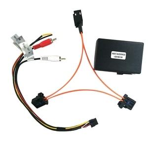 Image 1 - 3c para audi a6 a7 a8 q7 05 09 adaptador de amplificador de caixa de decodificador de fibra óptica do carro aux