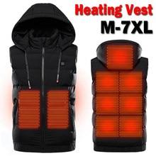 Veste tactique chauffante USB pour homme et femme, vêtement chaud avec bonnets, idéal pour le Camping, la randonnée, la pêche ou l'hiver