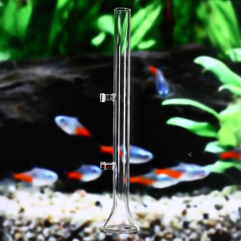 20/25/30/35/40/45cm Aquarium Feeding Glass Tube Pipe Fish Tank Crystal Shrimp  Feeder Pet Supplies Feeding Cup Suction Feeders  - AliExpress