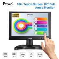 EYOYO EM10G 10 Small portable monitor pc ips 1920X1200 LCD Screen gaming Monitor HDMI VGA USB BNC AV 12V DC for Raspberry Pi