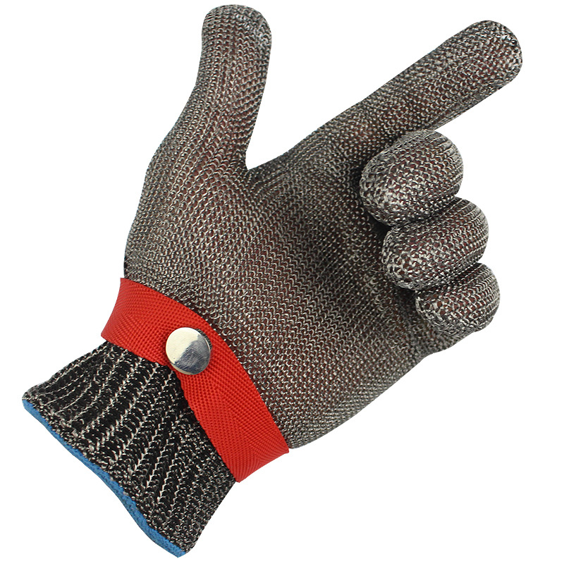 Image 3 - 5 Level Anti cutting Work Gloves Stainless Steel Wire Safety Gloves Safety Stab Resistant Work Gloves Cut MetalSafety Gloves   -