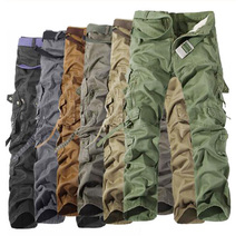 Hot sale free shipping men cargo pants camouflage trousers military pants for man 7 colors Men Tactics Pant 2020 Fashion