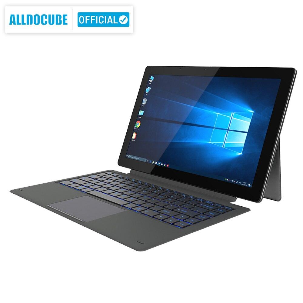 ALLDOCUBE Knote8 13.3 Inch 2 IN 1 Tablet PC Full View 2560x1440 IPS Windows10 Intel Kabylake 7Y30 8GB RAM 256GB ROM Micro HDMI