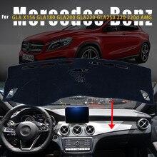 Cubierta protectora para salpicadero de Mercedes Benz GLA X156, GLA180, GLA200, GLA220, GLA250 220, AMG