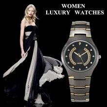 Fashion Women Watches Elegant Ladies Stainless Steel Quartz Watch Female montre femme reloj mujer dames horloges