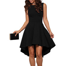 Women'S Dress Summer Sleeveless Backless A-Line Sexy Dress Fit And Flare Dress Knee Length Female недорого