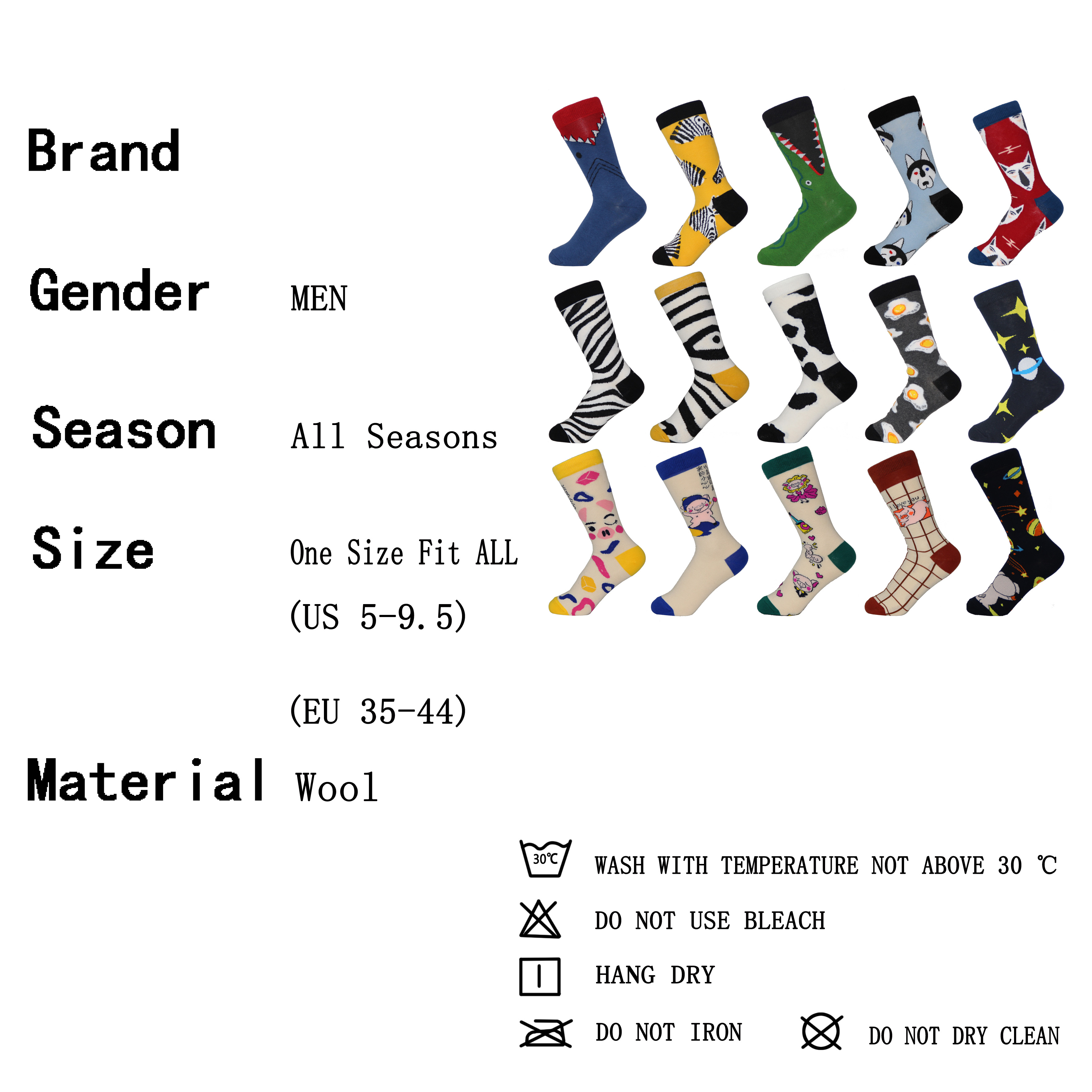 King.MI Lovely Middle Tube Sports Cotton Classic Fruit Lady Girls Sock *1 pair
