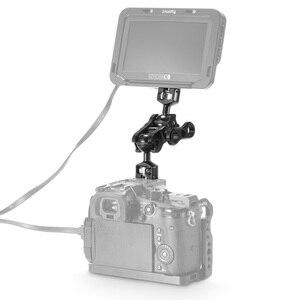 Image 5 - SmallRig DSLR kamera eklemli sihirli kol çift Ballheads (1/4 ve 3/8 vidaları) ayarlanabilir mafsallı kol 2212