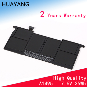 HUAYANG HIGH quality A1495 Battery for apple MacBook Air 11 A1370 2011 A1465 2012 2013 A1406