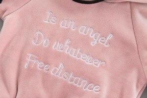 Image 5 - Ensemble de vêtements en velours pour bébés filles