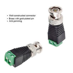 Image 5 - Free Shipping 10PCS BNC CCTV Connectors for AHD Camera CVI Camera TVI Camera CCTV Camera Coax/Cat5/Cat6 Cables