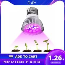 Volledige Spectrum Cfl Led Grow Licht Lampada E27 E14 MR16 GU10 Indoor Plant Lamp Bloeiende Hydrocultuur Systeem Ir Uv Tuin 110V 220V