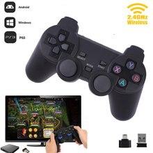 2,4G беспроводной геймпад пк для PS3 tv Box джойстик 2,4G джойстик игровой контроллер пульт дистанционного управления для Xiaomi Android беспилотный самолет с подарком