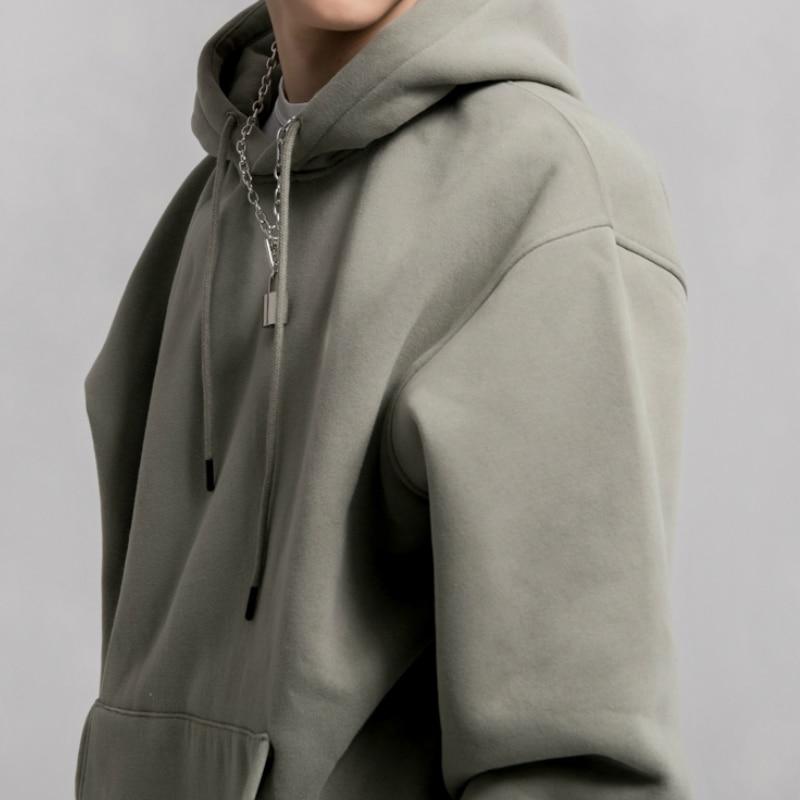Hip Hop Raglan Everyday Hoodies Kanye Fleece Warm Pullover Eleven Colors