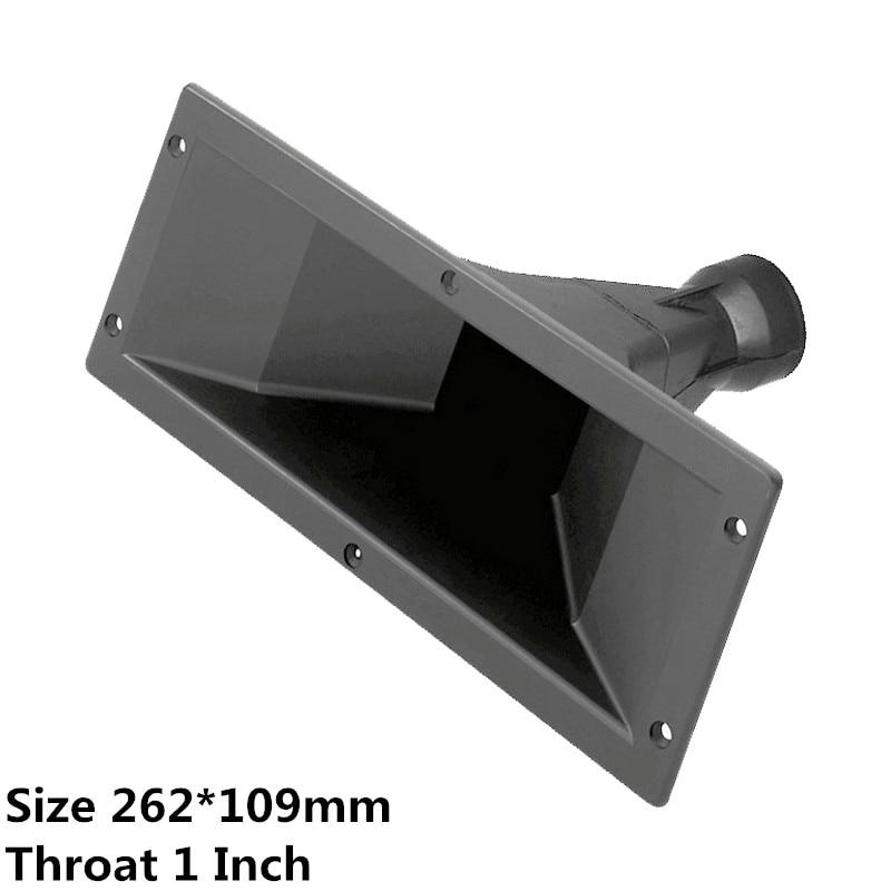 Finlemhom  Tweeter Speaker Accessories Treble Horn 262*109 For DJ Speaker Home Theater Karaoke Mixer Professional Audio PA262 DJ