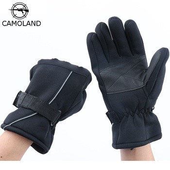 CAMOLAND Cold Weather Waterproof Gloves Men Windproof Warmer Fleece Tactical Military Glove Outdoor Motocycel Full Finger Gloves