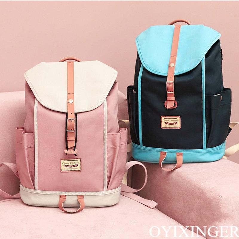 Campus filles moyen sacs d'école pour garçons enfants étudiants sacs à dos collège sac à dos Mochila Escolares Cartable Enfant ecoles