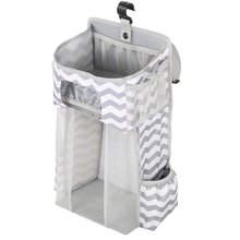 Portable crib storage rack bed newborn hanging bag diaper baby