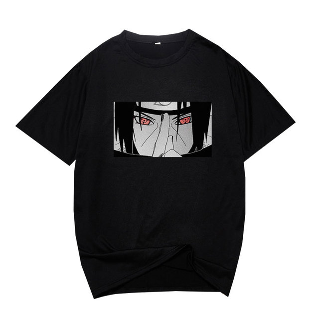 Футболка Мужская/Женская в стиле хип-хоп, топ с японским аниме на, уличная одежда в стиле Харадзюку, одежда для мальчиков 5