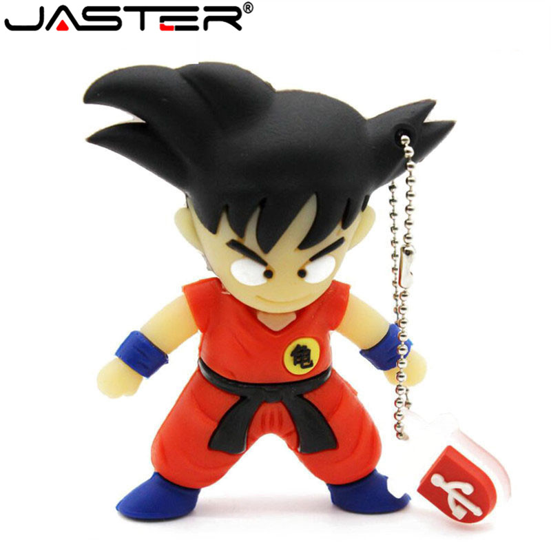 JASTER Hot Selling Cartoon USB Memory Stick Wukong Usb 4/8/16/32/64GB Pendrive Hot Sale Creative Gifts Free Shipping
