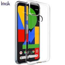 Para o google pixel 5 caso imak ultra fino tpu macio claro capa traseira casos de telefone para google pixel 4a 5g 4g